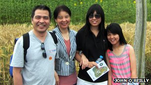 The Ding family