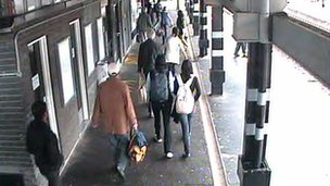 Anxiang Du at Northampton station