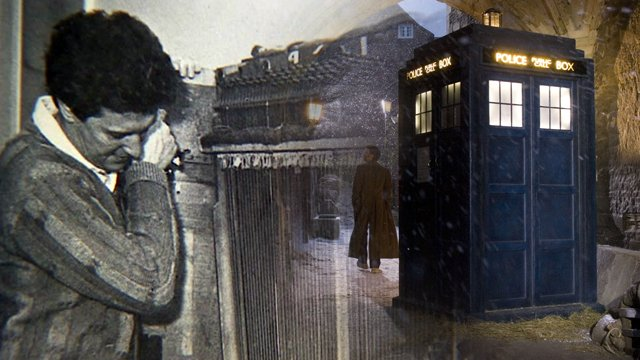 Brian Hodgson creates the Tardis sound with a key and an old piano