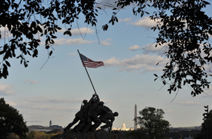 Iwo Jima Memorial, Arlington National Cemetery,  Virginia, United States