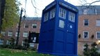 As if by magic, the Tardis materialised in Wrexham on Monday morning.