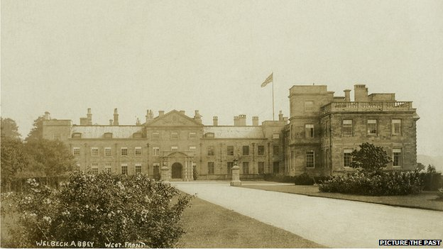 Welbeck Abbey in the early 20th Century