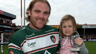 Andy Goode and daughter Ella-Grace