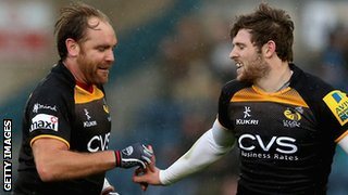 Andy Goode and Elliot Daly