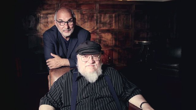 George RR Martin with Alan Yentob