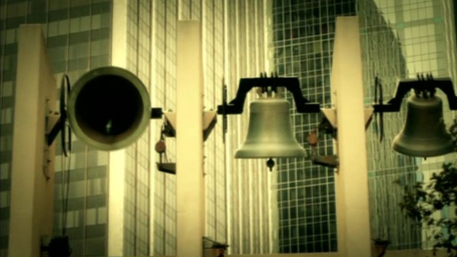 Bells ringing in Dallas, Texas