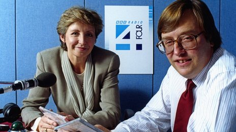 Sue Lawley and David Mellor