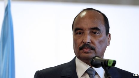 Mauritanian President Mohamed Ould Abdel Aziz (file photo)