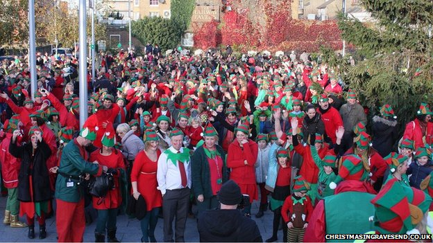 Elves in Gravesend