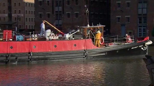 Massey Shaw fir boat