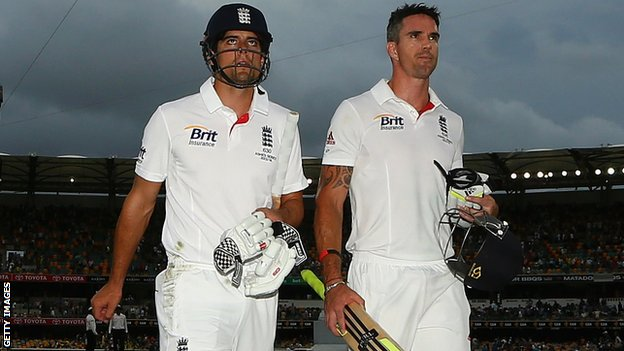 Alastair Cook & Kevin Pietersen