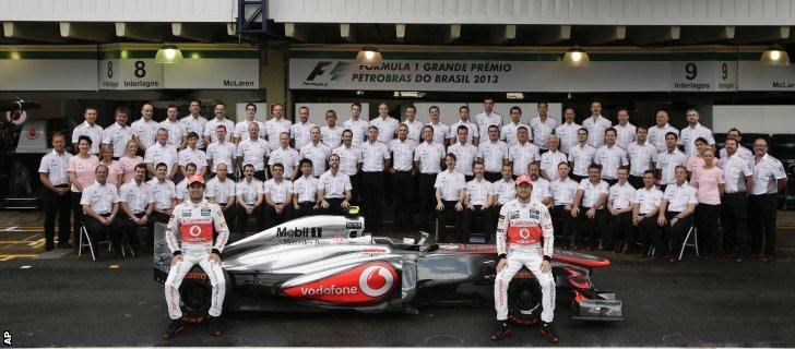 McLaren team of 2013