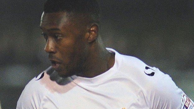Port Vale winger Jennison Myrie-Williams