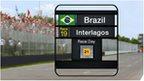 Brazil Grand Prix weather