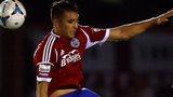 Aldershot striker Brett Williams