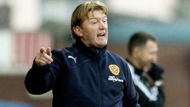 Interview - Motherwell manager Stuart McCall