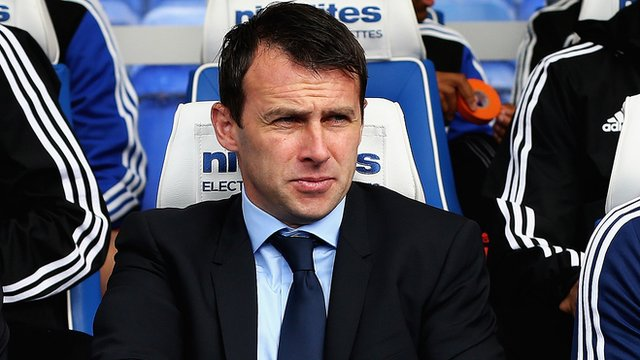 Bolton Wanderers manager Dougie Freedman