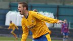 Darren Boyce scored a double as Dungannon got the better of Ards in Saturday's Premiership game