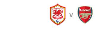 Cardiff v Arsenal