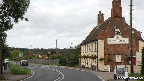 The White Hart Inn, Blythburgh