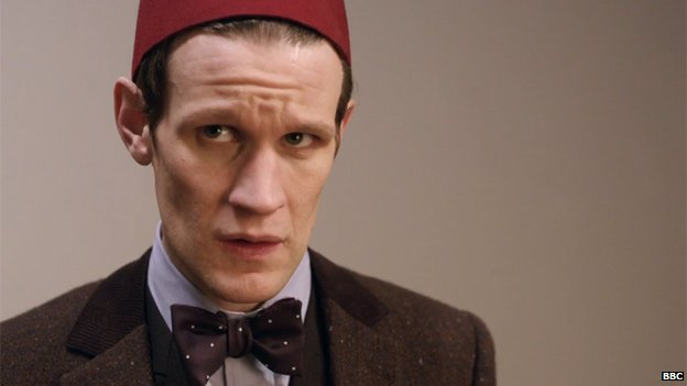 Matt Smith in Day Of The Doctor