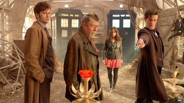 Scene from Day Of The Doctor