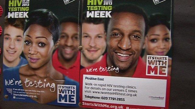 HIV testing week poster