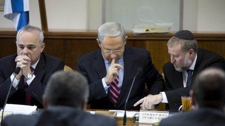 Israeli cabinet meeting (24/11/13)