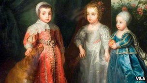 The Children of Charles I, courtesy of the V&A Museum of Childhood