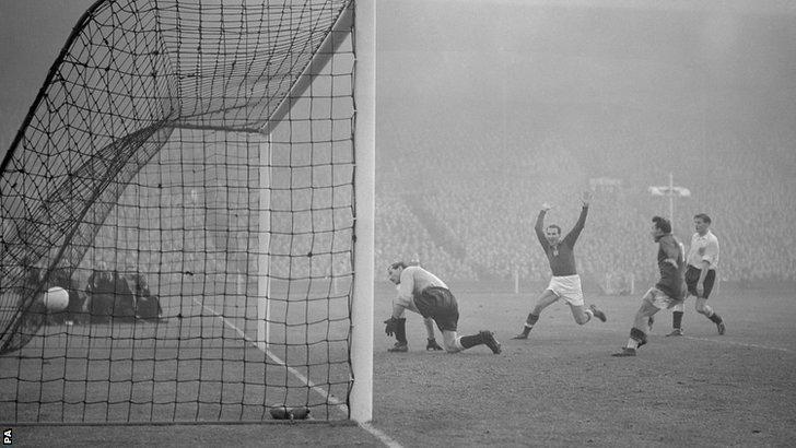 Hungary thrashed England at Wembley in November 1953