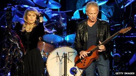 Fleetwood Mac on stage