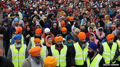sikh parade