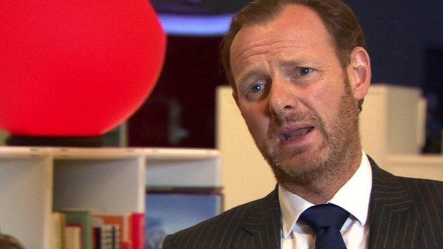 Government advisor Lawrence Tomlinson