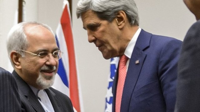 Javad Zarif and John Kerry