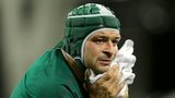 Rory Best was injured after scoring Ireland's second try against New Zealand