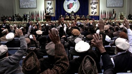 Last day of Loya Jirga - 24 November