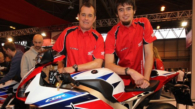 John McGuinness and Conor Cummins