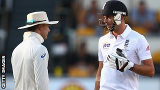 Michael Clarke's sledging of James Anderson has caused much debate down under