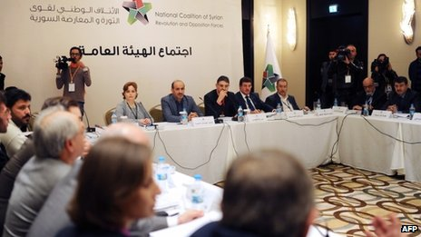 Syria's opposition National Coalition meets in Istanbul (9 November 2013)