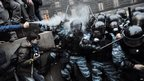 Clashes between protesters and police, Kiev 25 Nov