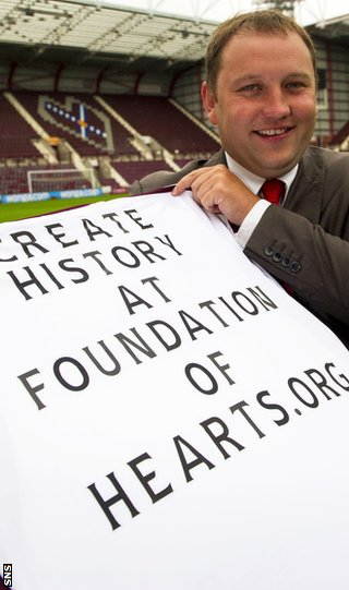 Ian Murray of the Foundation of Hearts
