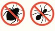 Insect extermination sign