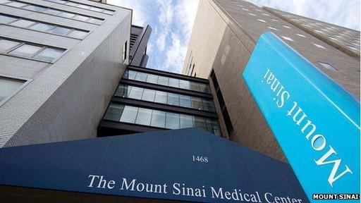 Mount Sinai exterior