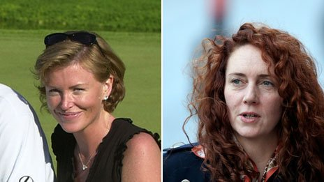 Eimear Cook (left) and Rebekah Brooks (right)