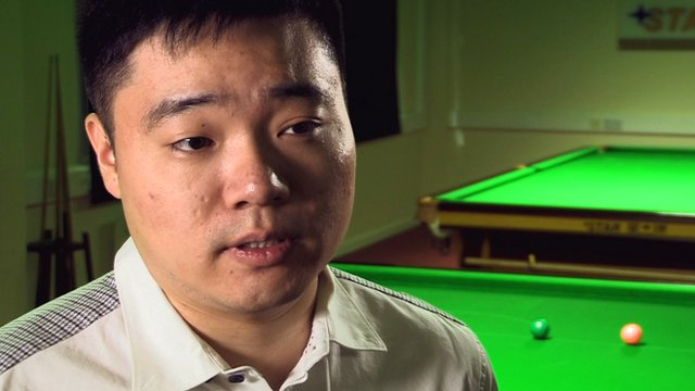 China's Ding Junhui looks forward to the 2013 UK Snooker Championship