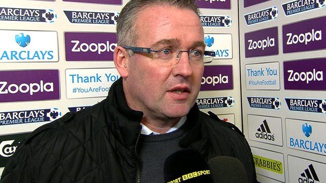 Paul Lambert discusses his daring triple substitution following Aston Villa's 2-2 draw at West Brom