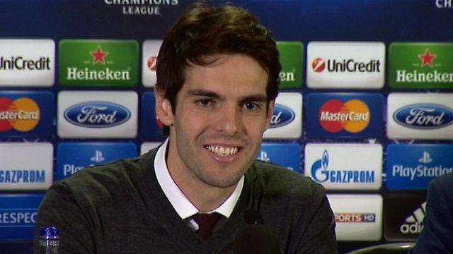 Interview - AC Milan midfielder Kaka