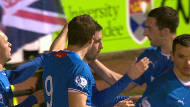 Highlights - Arbroath 0-3 Rangers