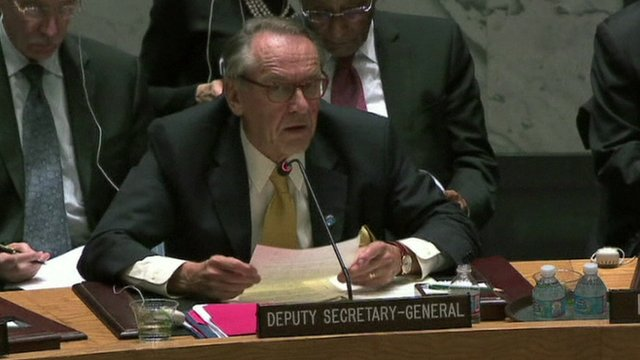 UN Deputy Secretary-General Jan Eliasson