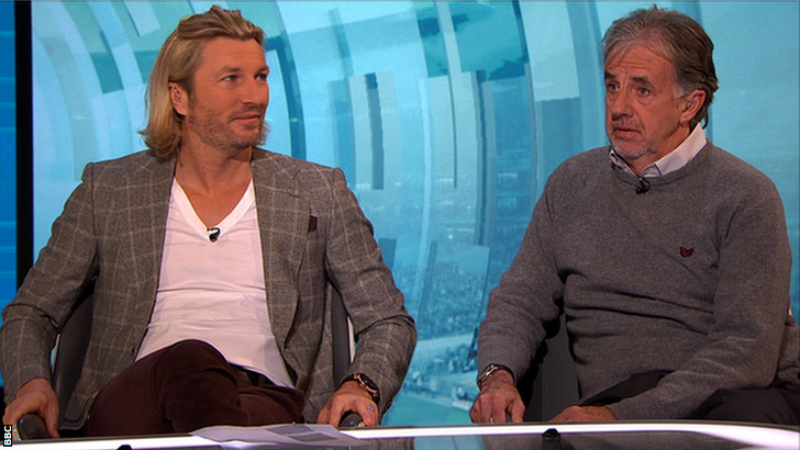 Robbie Savage and Mark Lawrenson